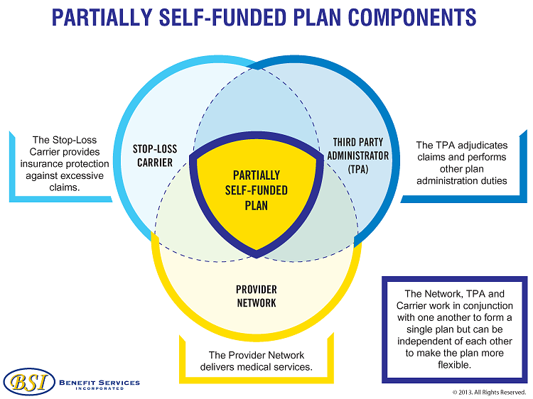 Partially-self-funded-plan-components